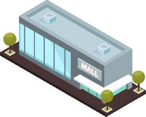 Cierre de centros comerciales