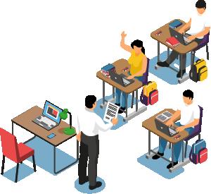 Asistencia a centros universitarios, docentes y educativos