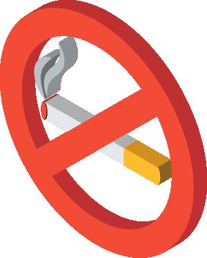 Prohibido fumar en las terrazas