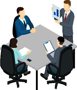 Suspensión temporal de reuniones de negocios